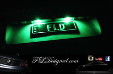 Green Holden Ve L.E.D numberplate light bulbs Maloo clubsport gts ss sv6 ssv FLD