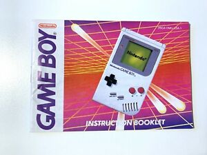 Console System GA DMG USA 1 Nintendo GameBoy Instruction Manual