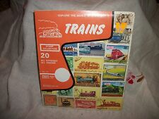 Explore The World With Stamps - TRAINS - Stamp Collection - Don Hirschhorn, Inc