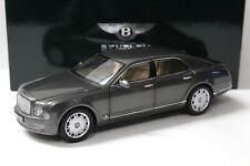 1:18 Minichamps Bentley Mulsanne Brodgar grey DEALER NEW bei PREMIUM-MODELCARS