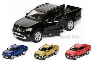 """Mercedes Benz X Class 5"""" inch pick up truck toy opening doors CHOOSE YOUR COLOUR"""