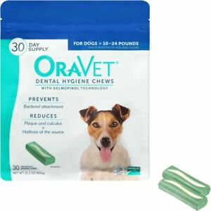 OraVet Dental Hygiene Chews for Small Dogs 30 Count