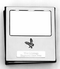 More details for owl barn design silver personalised photo album free engraving 100 photos 021
