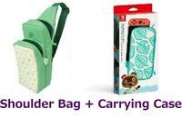 Shoulder Bag + Carrying Case Nintendo Switch Animal Crossing New Horizons HORI