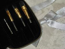 Dolce & Gabbana Makeup Brushes with Pouch. New. Authentic.