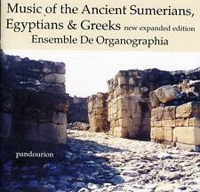 Music Of The Ancient Sumerians Egytians & Greeks - De Organograph (2011, CD NEU)