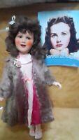 1940s 21 inch Ideal Deanna Durbin doll