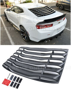 For 16-Up Chevrolet Camaro Coupe ABS Plastic Rear Window Louver Sun Shade Cover