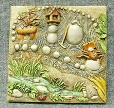 Harmony Kingdom Picturesque Zen Garden Byron'S Secret Garden Tile Plaque Pxgc3
