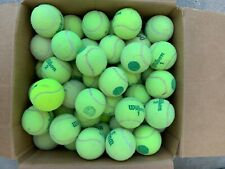 120 Used Green Tennis Balls, For Walkers, Dogs, Little League Practice
