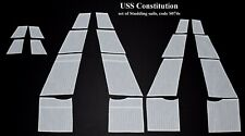 Revell USS Constitution, United States 1:96 - set of Studding sails for model