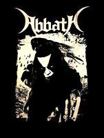 ABBATH cd lgo black metal RAVEN Official SHIRT Size LRG New immortal