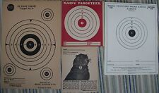 TARGETS 1 bid = FREE USA SHIP 2 old DAISY ,5 SEARS ,1 WESTERN 3 PETERS REMINGTON