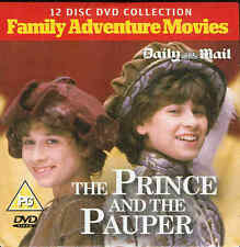 THE PRINCE AND THE PAUPER - Family Adventure Movie - ***DVD***