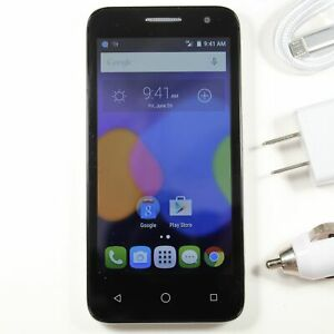 Alcatel OneTouch 5017B (Virgin Mobile) Silver Smartphone 8GB ⚡ Fast Shipping! ⚡