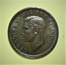 Canada 1 Small Cent 1938 Choice Uncirculated Coin - King George VI