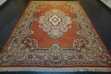 Schöner Feiner Gewebter Orientteppich Kirman Royal Rot Carpet Tappeto 240x320cm