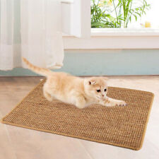 Sisal Cat Scratcher Board  Post Mat Toy Litter Mat Lounger PetBDAU