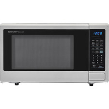 Carousel 1.8 Cu. Ft. Countertop Microwave In Stainless Steel With Sensor Cooking