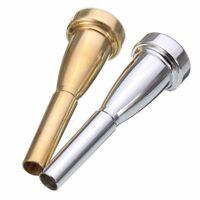 Trumpet Mouthpiece Trumpet 3C Size Silver P6W4