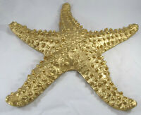 Large Gold Metal Starfish Home Decor By Lazy Susan, 14 1/2""