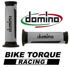 Ducati 907  Silver / Black Domino Turismo Handle Bar Grips