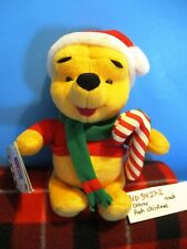 Disney Christmas Pooh With Candy Cane plush(310-3427-2)