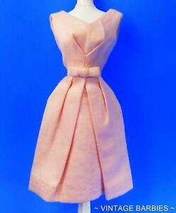 Barbie Doll Fashion PAK Cotton Belle Pink Dress HTF Near Mint  ~ Vintage 1960's