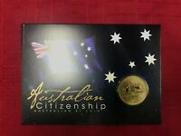 CB1207) Australia 2017 Perth Mint Australian Citizenship Uncirculated $1 coin