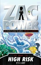 High Risk (Zac Power Missions) by Larry, H. I. Book The Cheap Fast Free Post