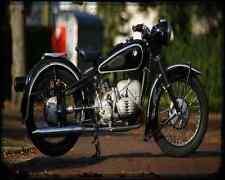 Bmw R 67 2 A4 Photo Print Motorbike Vintage Aged