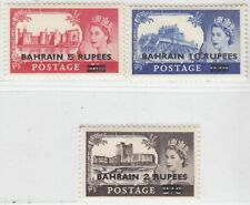 BAHRAIN 1955   ISSUE UNUSED   FULL SET SCOTT 96/98