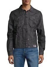 NWT PRPS Black Denim Think Distressed Jean Jacket E77JT21 Size XL $375