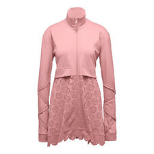 NWT Puma Fenty TRICOT JACKET WITH EMBROIDERED SKIRT Pink Rihanna M Lace Women