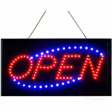 Neon Open Sign Business Lighted With Static And Flashing Modes &ndash Indoor Up