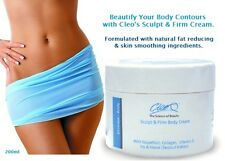 Cleo Sculpt & Firm Crema Corporal Activo Fat Burning & Anti Celulitis fórmula 200ml