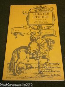 OHIO STATE UNI THEATRE #18 - 1971 - TEMPEST - FRENCH FESTIVAL BOOKS