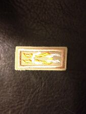 "Silver Antelope Award Knot on Tan Weave, ""Scout Stuff"" Back, Mint. Very Rare"