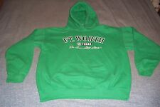 Ft. Worth Texas The Lone Star State Hoodie Mens Womans Medium Sweatshirt