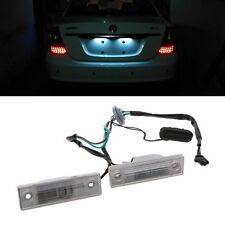 2pcs Rear Back License Plate Light With Trunk Switch Button For Cruze Chevrolet