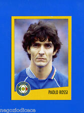 AZZURRI CON IP ITALIA - Merlin - Figurina-Sticker n. 14 - PAOLO ROSSI -New