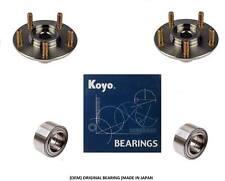 2001-2005 TOYOTA RAV4 Front Wheel Hub & OEM KOYO Bearing Kit (PAIR)