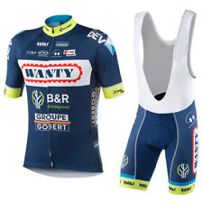 Ropa ciclismo verano Wanty equipement maillot culot cycling jersey maglie short