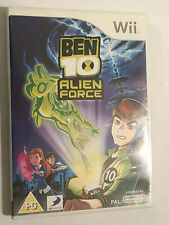 NINTENDO Wii VIDEO GAME BEN 10  ALIEN FORCE +boxed PAL