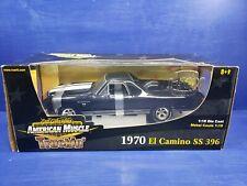1:18 Elcamino SS 396 Chevrolet American Muscle Truck'n Torque Thrust Black RARE