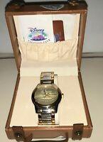 NIB Mens DVC Disney Vacation Club watch by Fossil, VERY Rare Disney Fossil Watch