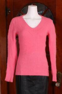 le chateau Pink 80% Angora Sweater XS