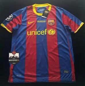 Maglia Messi Barcellona Finale 2011 - Calcio Vintage Retro Final Barcelona Barca