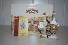 David Winter Cottages Fagin'S Hideout D1186 Oliver Twist Christmas Box Coa