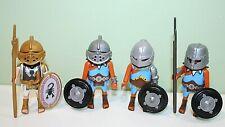 Playmobil  Roman Tribune and 3 Gladiator Figures Accessories Custom